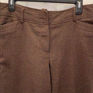 Brown tweed pant Size 10P